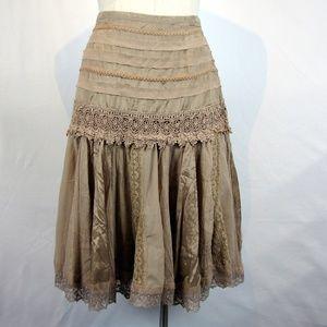 Lucky  & Coco boho gypsy lace skirt 10